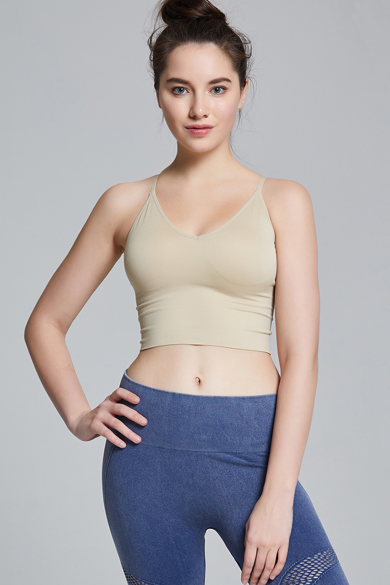 B70 CROP TOP KHAKI