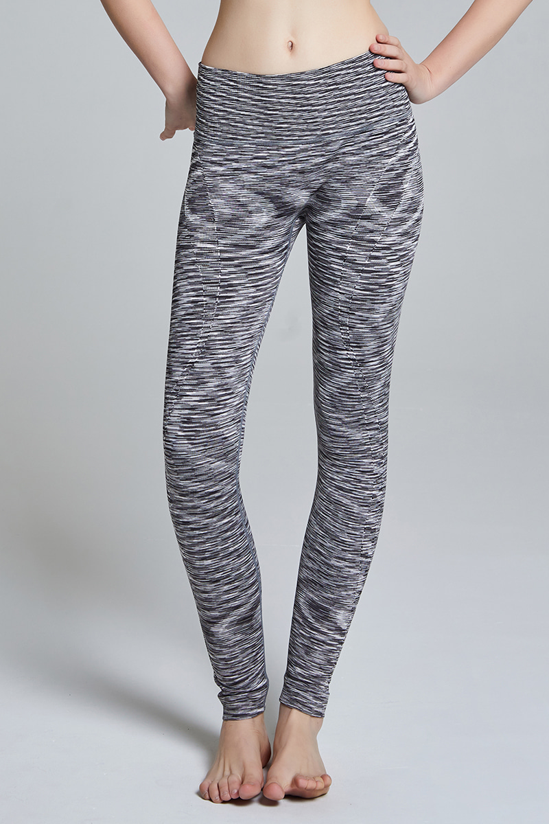 L724 Leggings Long BLACK