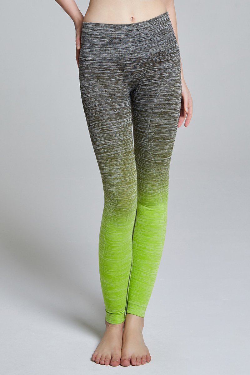 L704 Leggings long ARMY GREEN
