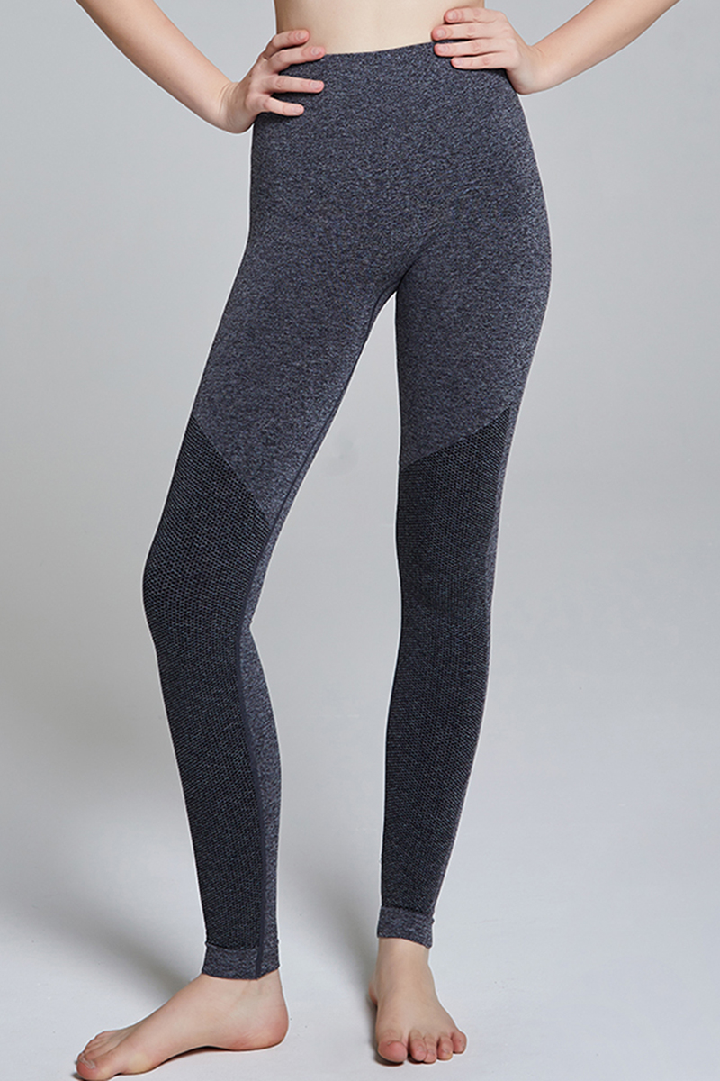 YP20 Seamless Leggings long GRAY