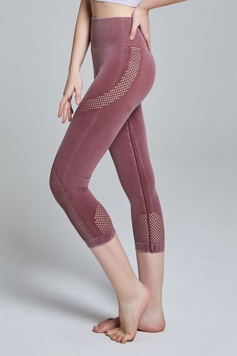 CFD27 Seamless Leggings RED