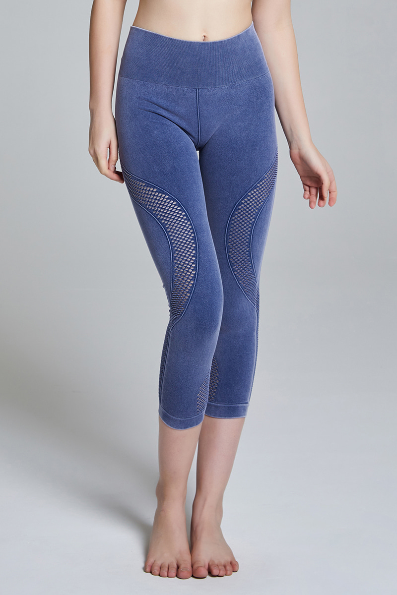 CFD27 Seamless Leggings BLUE