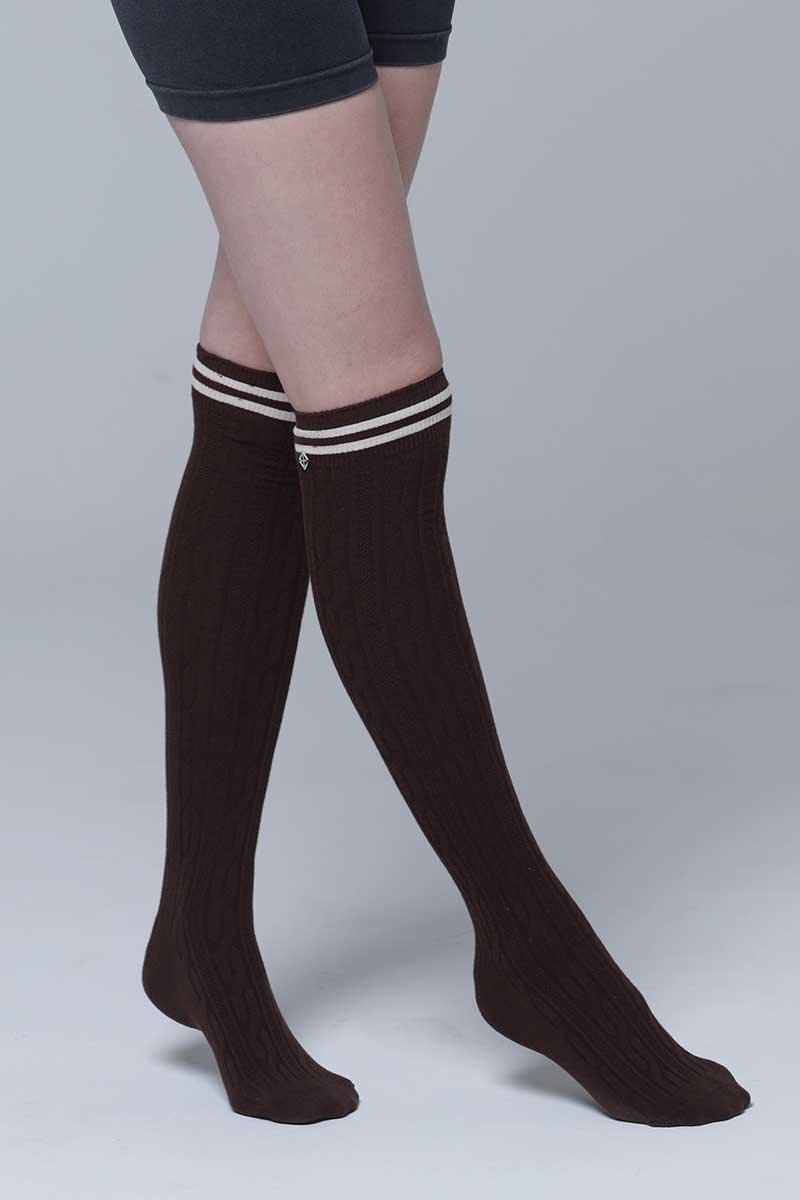 OVERNEE SOCKS3 BROWN (3 color)